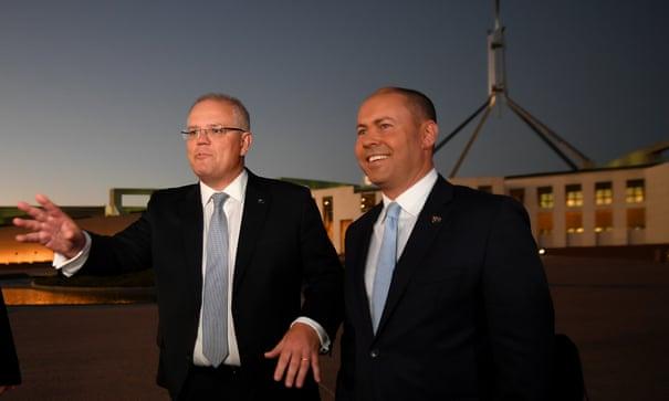 'Trust deficit': Morrison says middle Australia has lost faith in public sector | Australia news | The Guardian