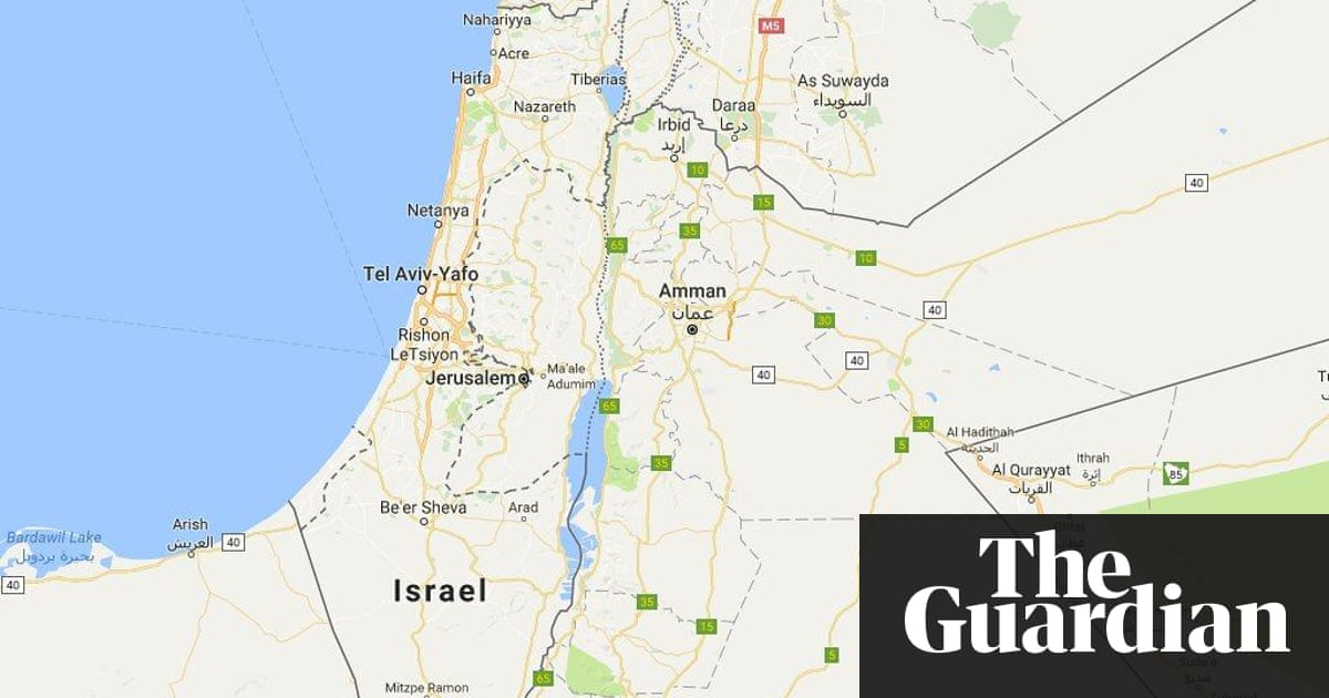 Disputed territories where google maps draws the line technology google was criticised for removing a label saying palestine from its maps although gumiabroncs Choice Image