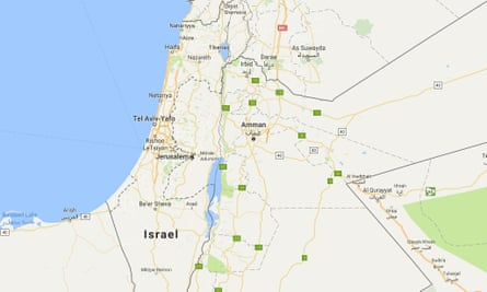 Google was criticised for removing a label saying 'Palestine' from its maps, although the company said there has never been such a label.