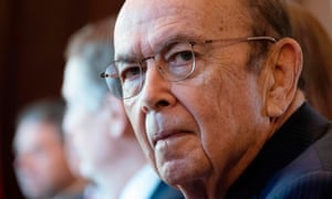Commerce secretary Wilbur Ross, whose department oversees the census