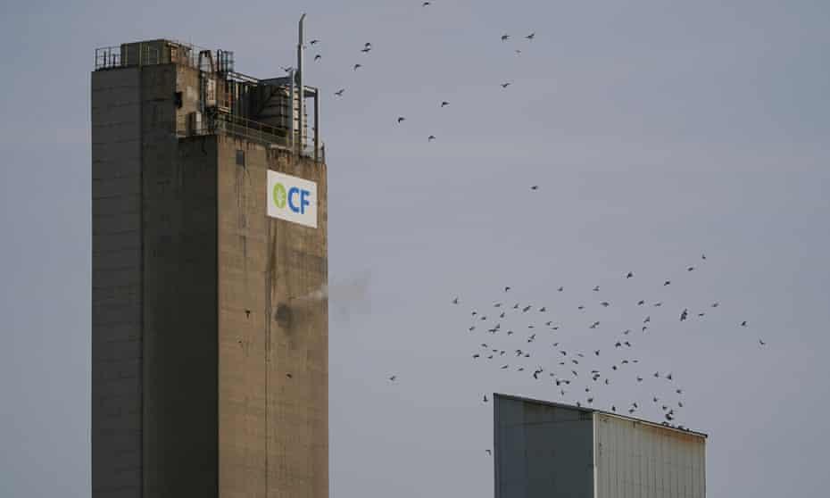 CF Industries' Billingham plant in Teesside