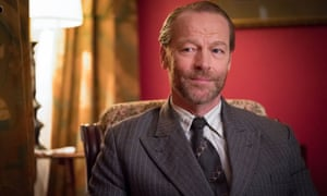 Iain Glen plays Alexander Wilson, the spy and serial bigamist who remains a mystery.