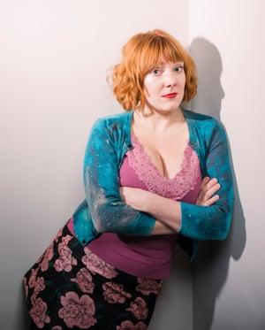 Comedian Sophie Willan.