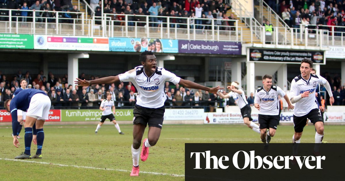 How Hereford Fc Have Risen From The Dead To Arrive At Wembley