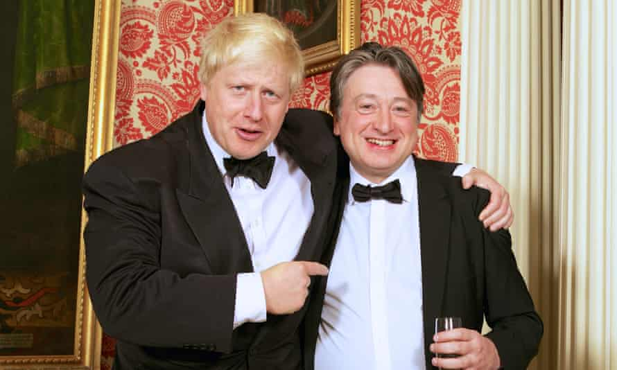 Alexander Temerko with Boris Johnson.