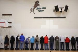 Boise, Idaho: Voters cast their ballots