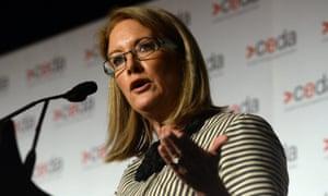 Former sex discrimination commissioner Elizabeth Broderick