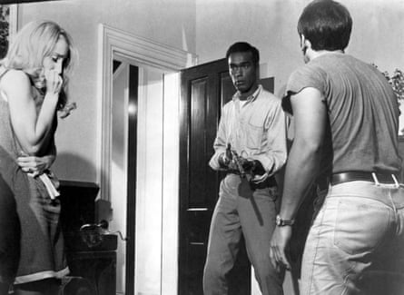 Judith O'Dea, Duane Jones and Keith Wayne in Night of the Living Dead