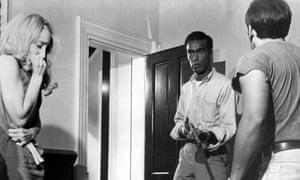 Duane Jones in Night of the Living Dead.