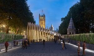 Architects design of Holocaust memorial.