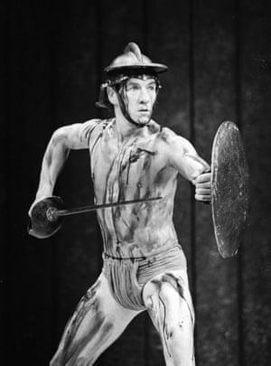 Ian McKellen at the National Theatre in 1984.