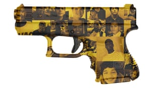 Photomontage with the faces of police shootings in USA Jan 2015- June 2015