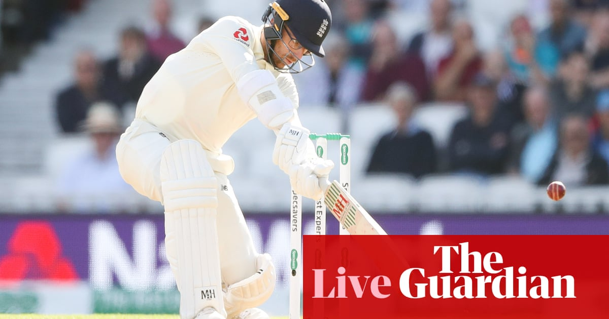 Ashes 2019: England v Australia, fifth Test day two – live!