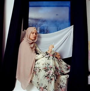 Untitled, from the series My Hijab Has A Voice: Revisited' - Series Winner