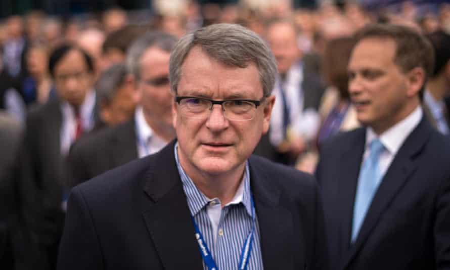 Election strategist for the Conservative party Lynton Crosby.