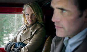 Uma Thurman with Matt Dillon in The House That Jack Built.