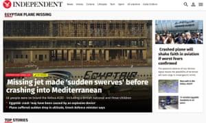 The Independent website.