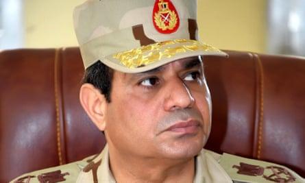 Egypt's president, Abdel Fatah al-Sisi