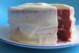 Southern Living's red velvet cake.