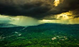 Rain cloud Bangladesh