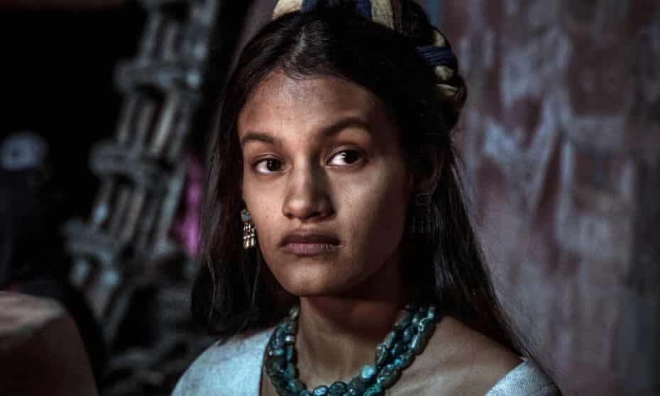 Ishbel Bautista as La Malinche, Cortés' indigenous lover and translator.