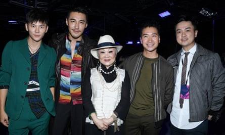 Wang Jia, Bin Hu, Lanvin owner Shaw-Lan, Shen Ming He