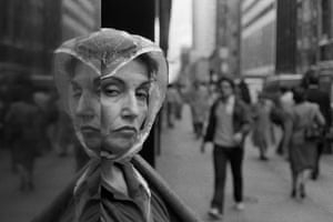Two Faces, 5th Ave., NYC, 1989