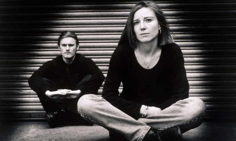 Geoff Barrow and Beth Gibbons in the early 90s.