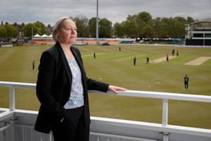 Karen Rothery, CEO of Leicestershire County Cricket Club.