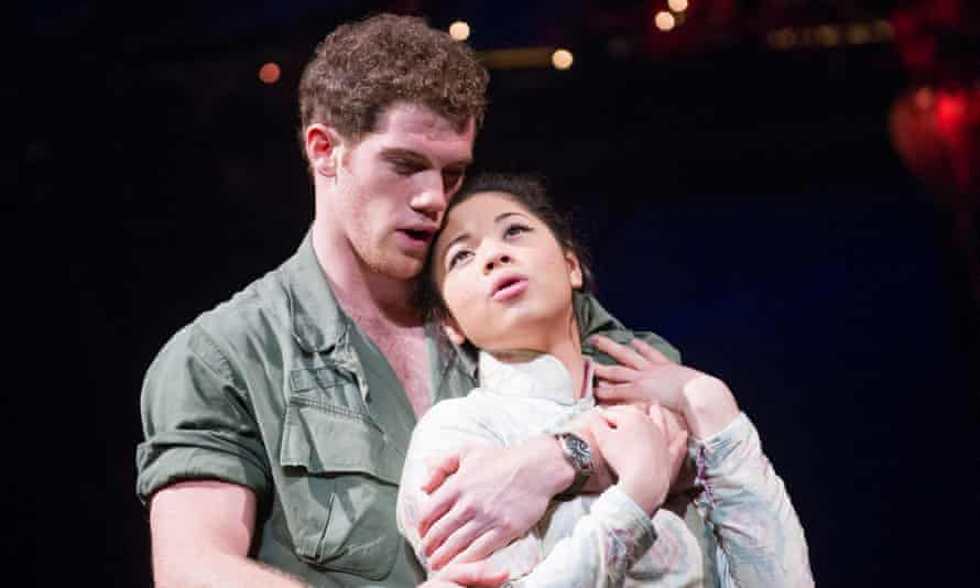 Alistair Brammer and Eva Noblezada in Miss Saigon