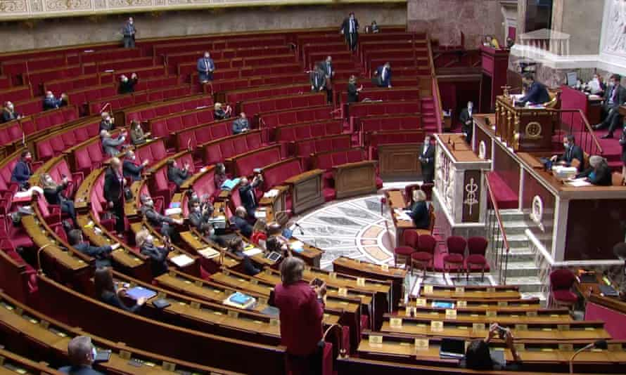 The vote in the Assemblée Nationale