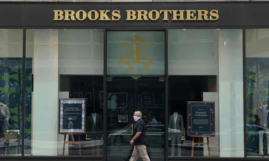 a Brooks Brothers store