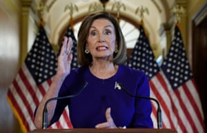 Washington D.C, USHouse Speaker Nancy Pelosi (D-CA) announces the House of Representatives will launch a formal inquiry into the impeachment of U.S. President Donald Trump following a closed House Democratic caucus meeting