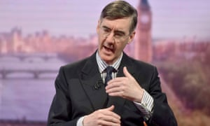 Jacob Rees-Mogg on The Andrew Marr Show.