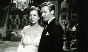 Valentina Cortese and Richard Basehart in The House on Telegraph Hill, 1951.