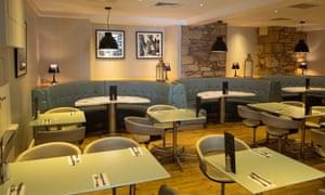 Mannings hotel restaurant in Truro.