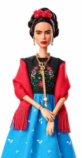 The Frida Kahlo Barbie.