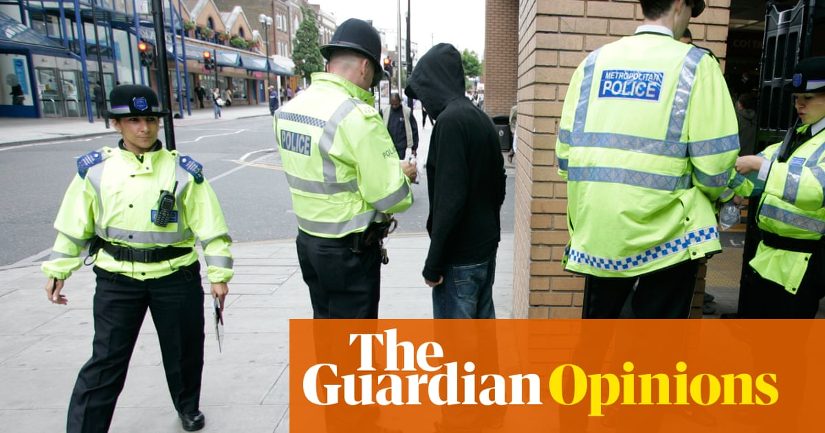 Boris Johnson claims stop and search is 'kind and loving'. He's gaslighting Black people