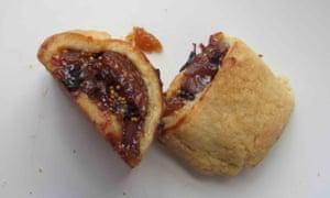 Rosemary Shrager's fig rolls.