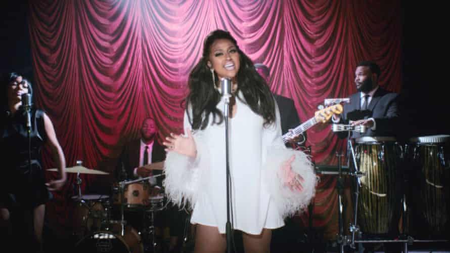 Aparición en los premios BET Soul Train Awards, noviembre de 2020.