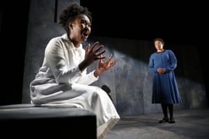Playwright Penelope Skinner has two plays at the festival: Angry Alan at the Underbelly and Meek, pictured, starring Shvorne Marks and Amanda Wright at the Traverse