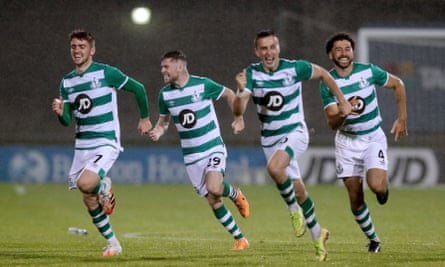 Shamrock Rovers secured a fairytale second-round tie with Milan by beating Ilves Tampere 12-11 on penalties.