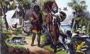 Robinson Crusoe Man Friday