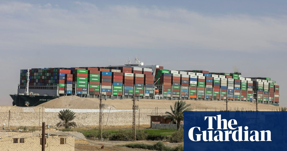 Ever Given owner says Suez canal authority at fault ship's grounding