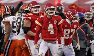Chad Henne came off the bench to clinch a place in the AFC Championship game for the Kansas City Chiefs