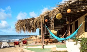 Bungalows and hammocks, Cabo Polonio