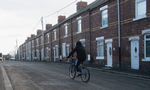 Streets of terrace houses in Horden were sold off by Accent Housing Association