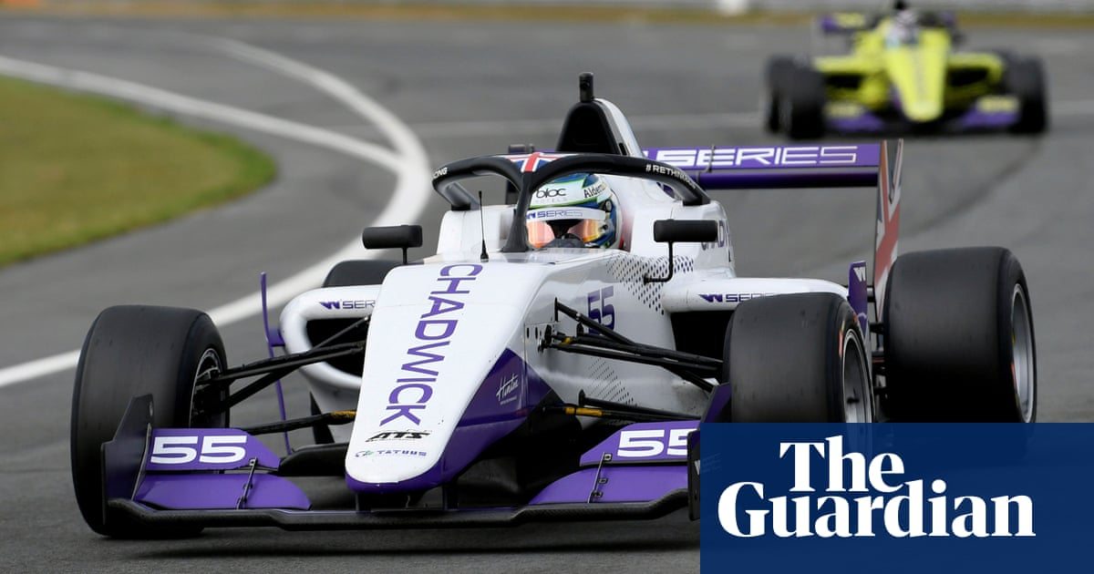 W Series' first champion marks key step for women in motor racing | Giles Richards
