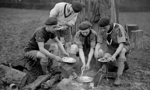 Scout camp, 1930
