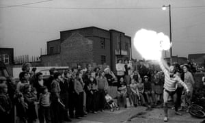 A scene from Frestonia's first anniversary celebrations, October 1978